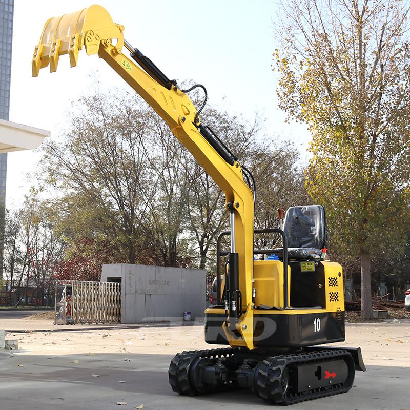 新款10小型挖掘机