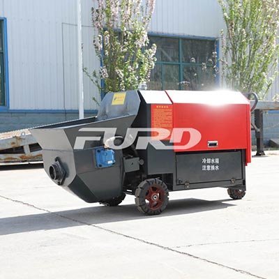 7.5kw混凝土浇筑泵(带搅拌)