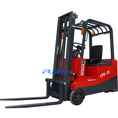 三支点CPD1.5吨前驱电动升降液压电动叉车