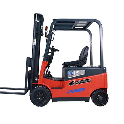 CPD1.5吨铅酸四轮堆高车座驾式电动叉车