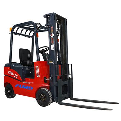 1.5吨经济型电动前移式电瓶座驾式液压电动叉车